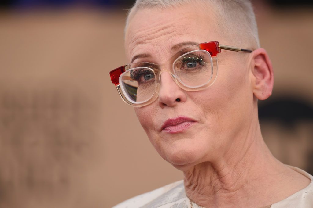 LOS ANGELES, CA - JANUARY 29:  Actor Lori Petty, glasses detail, attends The 23rd Annual Screen Actors Guild Awards at The Shrine Auditorium on January 29, 2017 in Los Angeles, California. 26592_008  (Photo by Frazer Harrison/Getty Images)