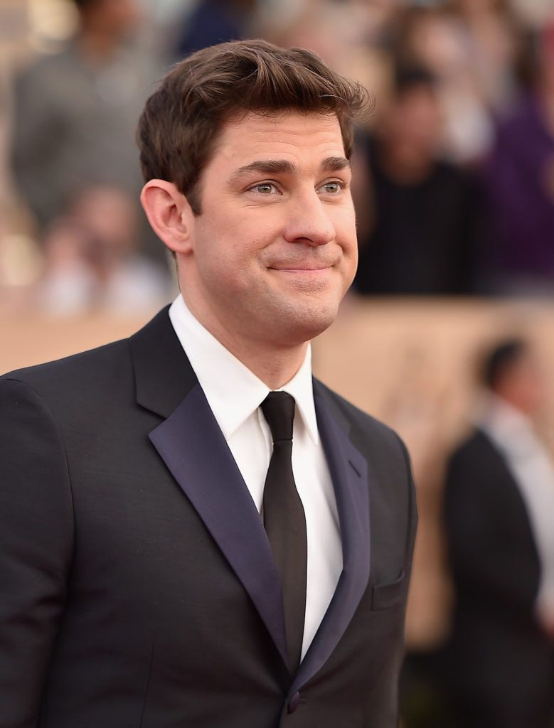 LOS ANGELES, CA - JANUARY 29:  Actor John Krasinski attends the 23rd Annual Screen Actors Guild Awards at The Shrine Expo Hall on January 29, 2017 in Los Angeles, California.  (Photo by Alberto E. Rodriguez/Getty Images)