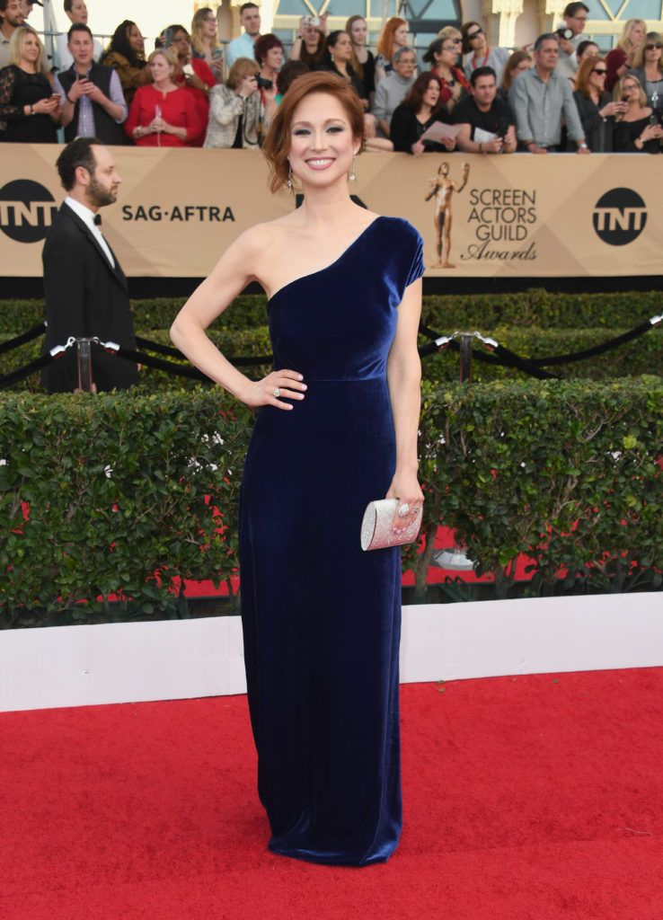 LOS ANGELES, CA - JANUARY 29:  Actor Ellie Kemper attends the 23rd Annual Screen Actors Guild Awards at The Shrine Expo Hall on January 29, 2017 in Los Angeles, California.  (Photo by Alberto E. Rodriguez/Getty Images)