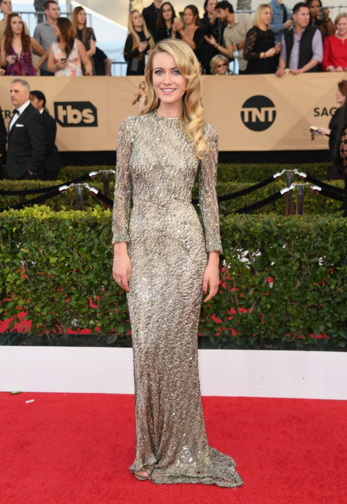 LOS ANGELES, CA - JANUARY 29:  Sanne Hamers attends the 23rd Annual Screen Actors Guild Awards at The Shrine Expo Hall on January 29, 2017 in Los Angeles, California.  (Photo by Alberto E. Rodriguez/Getty Images)