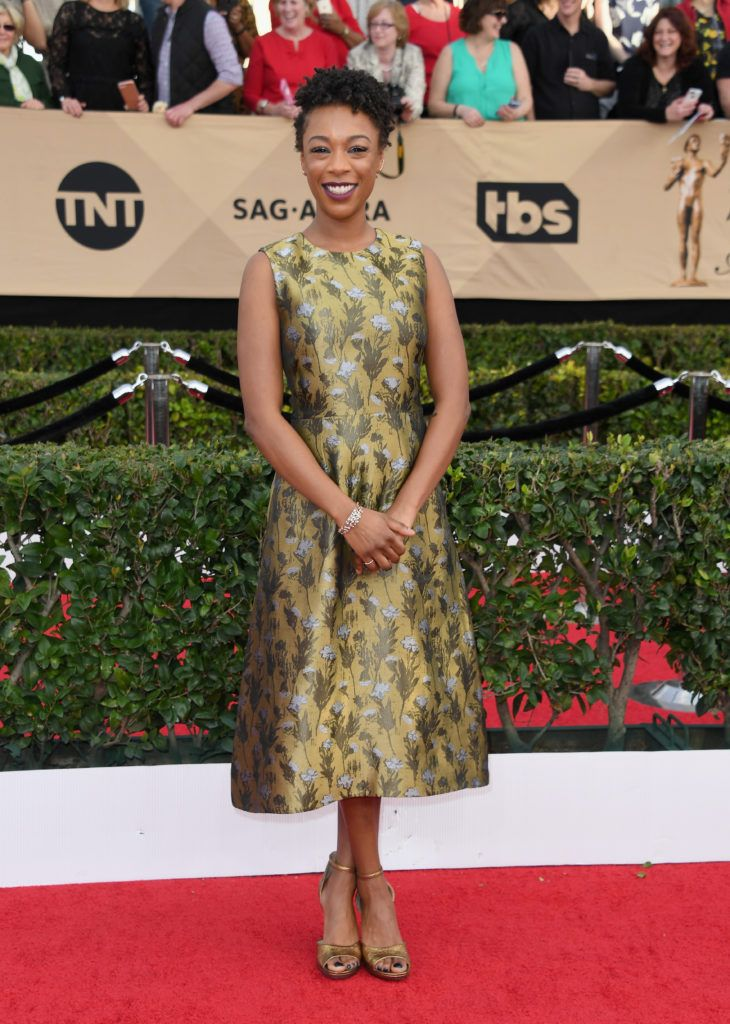 LOS ANGELES, CA - JANUARY 29:  Actor Samira Wiley attends the 23rd Annual Screen Actors Guild Awards at The Shrine Expo Hall on January 29, 2017 in Los Angeles, California.  (Photo by Alberto E. Rodriguez/Getty Images)