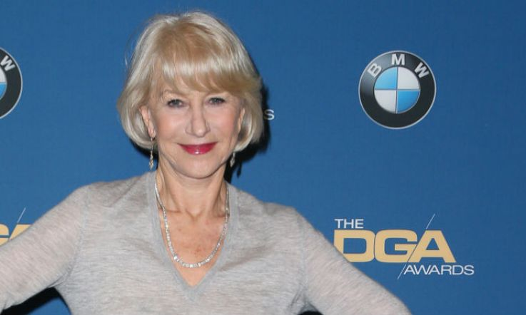 Helen Mirren wore a jumper and skirt to the DGA awards and