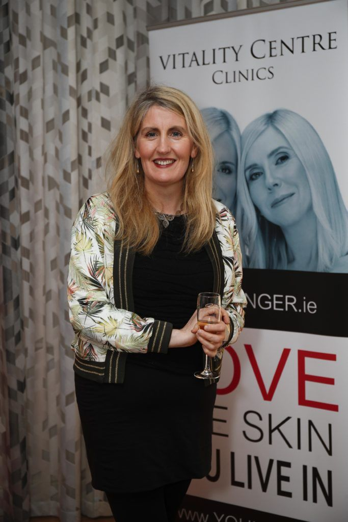 Pictured was Geraldine Keoghan at the launch of Vitality Centres new website www.younger.ie which focuses on a wide range of non surgical skin treatments. Picture Conor McCabe Photography.