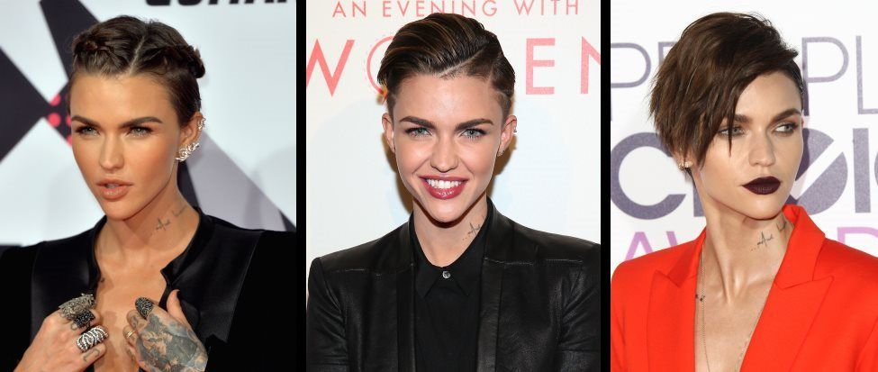 15 times Ruby Rose showed us very different short hair styles | Beaut.ie