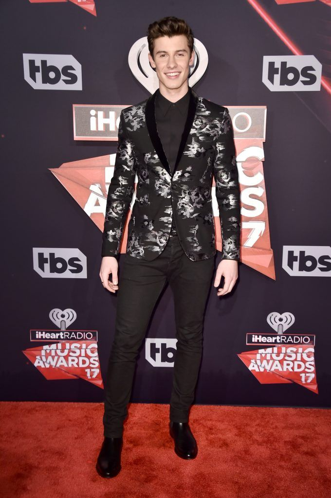 Singer-songwriter Shawn Mendes attends the 2017 iHeartRadio Music Awards which broadcast live on Turner's TBS, TNT, and truTV at The Forum on March 5, 2017 in Inglewood, California.  (Photo by Alberto E. Rodriguez/Getty Images)