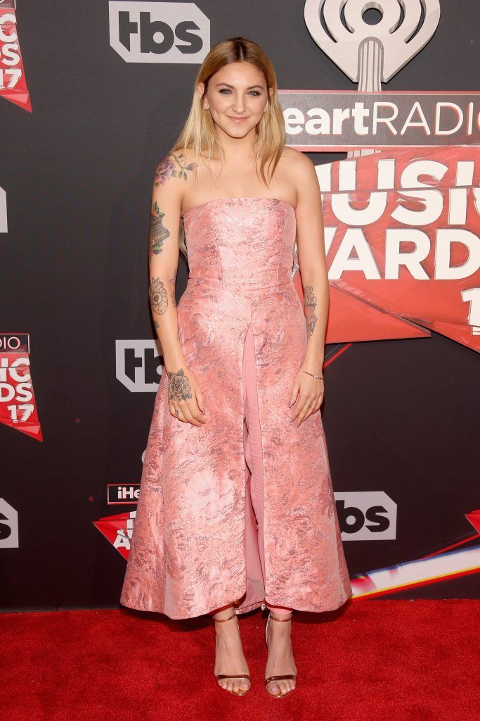 Singer Julia Michaels attends the 2017 iHeartRadio Music Awards which broadcast live on Turner's TBS, TNT, and truTV at The Forum on March 5, 2017 in Inglewood, California.  (Photo by Jesse Grant/Getty Images for iHeartMedia)