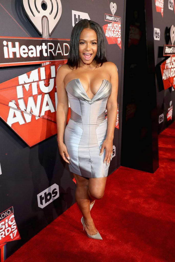TV personality Christina Milian attends the 2017 iHeartRadio Music Awards which broadcast live on Turner's TBS, TNT, and truTV at The Forum on March 5, 2017 in Inglewood, California.  (Photo by Jonathan Leibson/Getty Images for iHeartMedia)