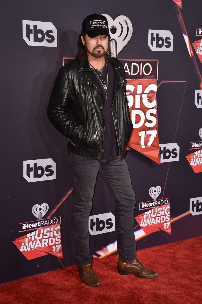 Musician Billy Ray Cyrus attends the 2017 iHeartRadio Music Awards which broadcast live on Turner's TBS, TNT, and truTV at The Forum on March 5, 2017 in Inglewood, California.  (Photo by Alberto E. Rodriguez/Getty Images)