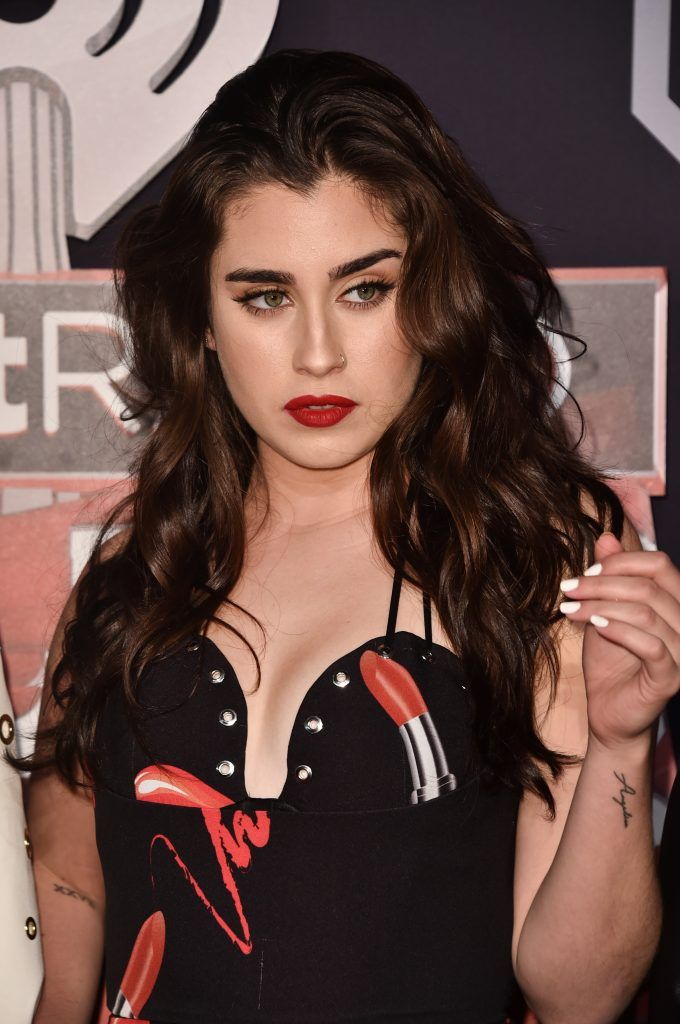 Singer Lauren Jauregui of the group Fifth Harmony attends the 2017 iHeartRadio Music Awards which broadcast live on Turner's TBS, TNT, and truTV at The Forum on March 5, 2017 in Inglewood, California.  (Photo by Alberto E. Rodriguez/Getty Images)