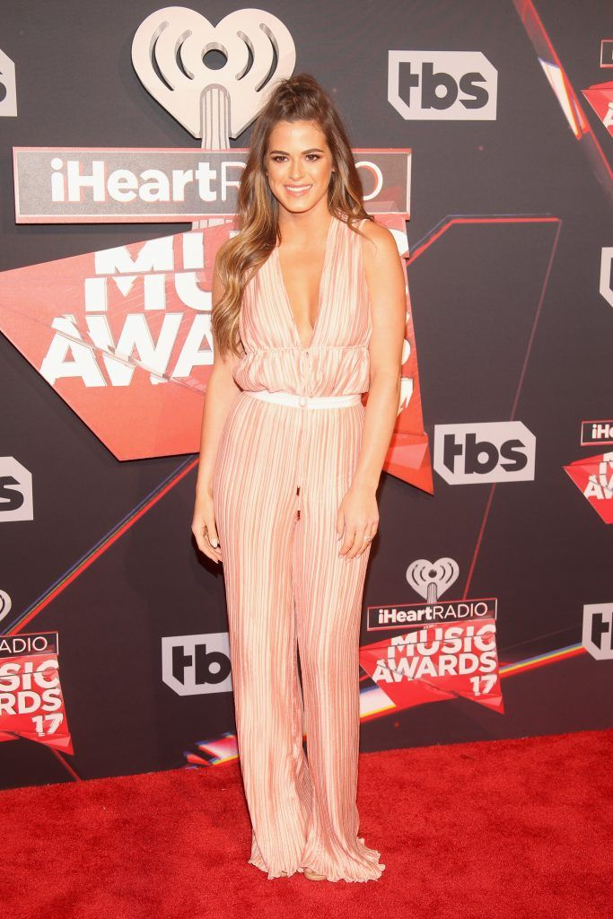 TV personality JoJo Fletcher attends the 2017 iHeartRadio Music Awards which broadcast live on Turner's TBS, TNT, and truTV at The Forum on March 5, 2017 in Inglewood, California.  (Photo by Jesse Grant/Getty Images for iHeartMedia)