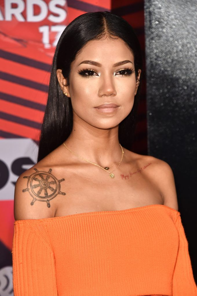 Recording artist Jhene Aiko attends the 2017 iHeartRadio Music Awards which broadcast live on Turner's TBS, TNT, and truTV at The Forum on March 5, 2017 in Inglewood, California.  (Photo by Alberto E. Rodriguez/Getty Images)