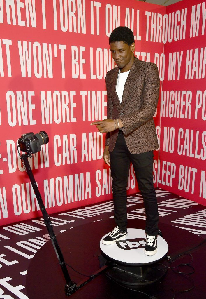 Singer Labrinth attends the 2017 iHeartRadio Music Awards which broadcast live on Turner's TBS, TNT, and truTV at The Forum on March 5, 2017 in Inglewood, California.  (Photo by Frazer Harrison/Getty Images for iHeartMedia)