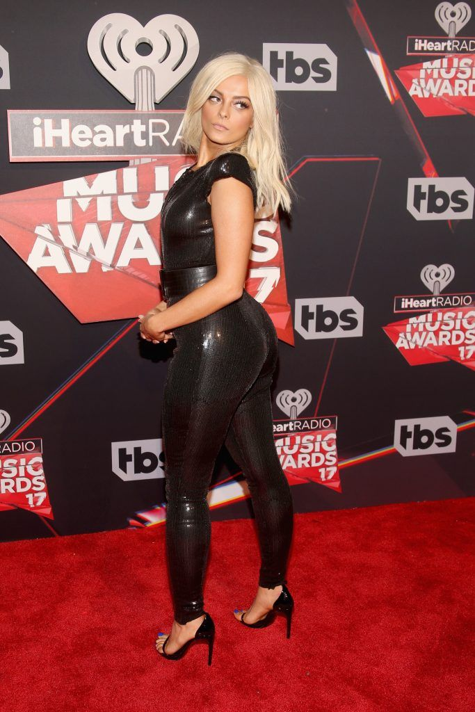 Singer Bebe Rexha attends the 2017 iHeartRadio Music Awards which broadcast live on Turner's TBS, TNT, and truTV at The Forum on March 5, 2017 in Inglewood, California.  (Photo by Jesse Grant/Getty Images for iHeartMedia)