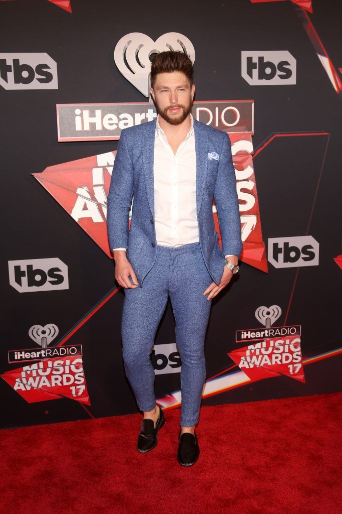 Singer Chris Lane attends the 2017 iHeartRadio Music Awards which broadcast live on Turner's TBS, TNT, and truTV at The Forum on March 5, 2017 in Inglewood, California.  (Photo by Jesse Grant/Getty Images for iHeartMedia)