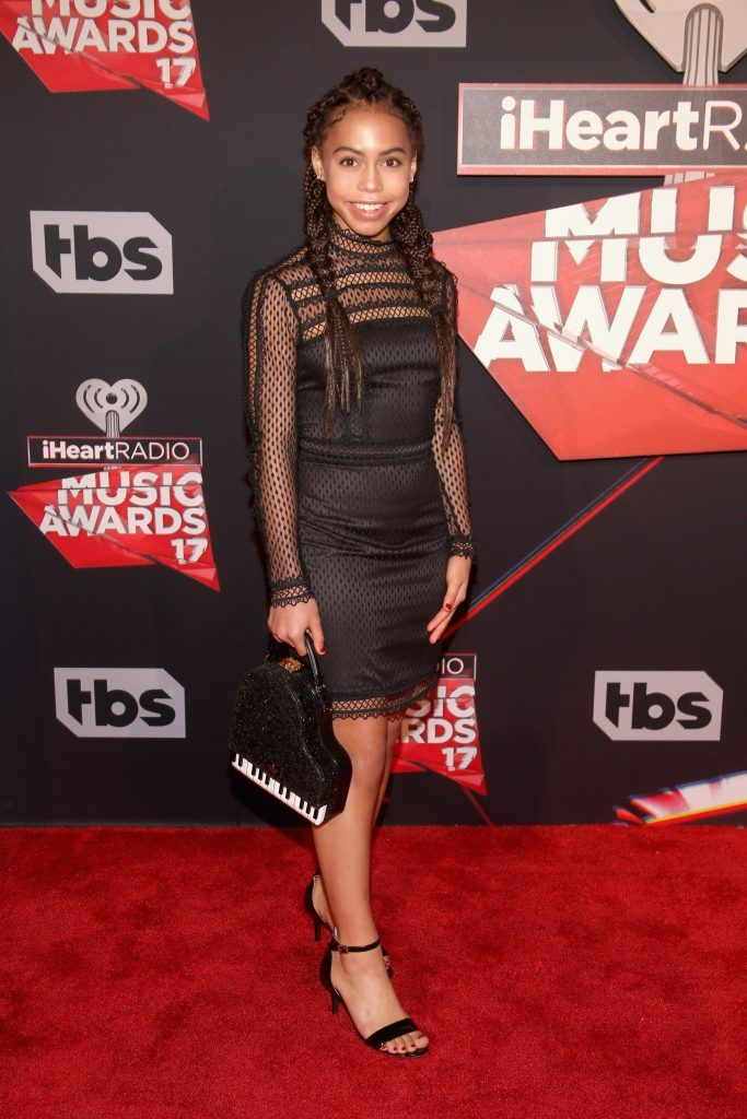 Singer-actor Asia Monet Ray attends the 2017 iHeartRadio Music Awards which broadcast live on Turner's TBS, TNT, and truTV at The Forum on March 5, 2017 in Inglewood, California.  (Photo by Jesse Grant/Getty Images for iHeartMedia)