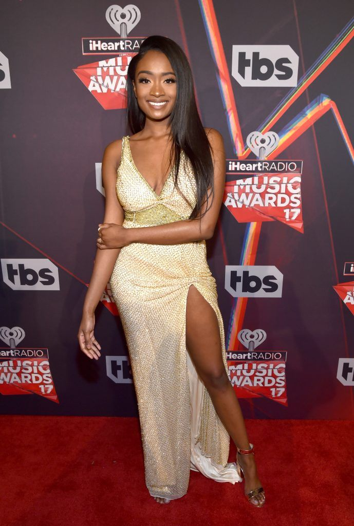 Singer Kayla Brianna attends the 2017 iHeartRadio Music Awards which broadcast live on Turner's TBS, TNT, and truTV at The Forum on March 5, 2017 in Inglewood, California.  (Photo by Frazer Harrison/Getty Images for iHeartMedia)