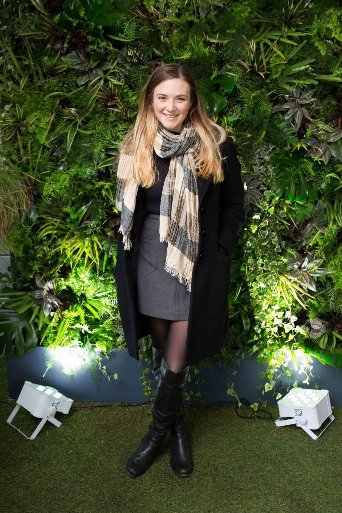 Aleshia Miller pictured at the launch of the Urban Veda natural skincare range in Ireland at House Dublin, Lower Leeson St. Photo by Richie Stokes