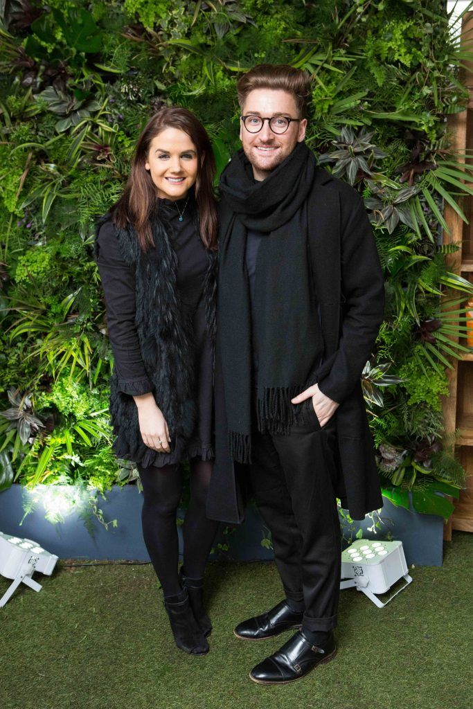 Karla Stein and Rob Kenny  pictured at the launch of the Urban Veda natural skincare range in Ireland at House Dublin, Lower Leeson St. Photo by Richie Stokes