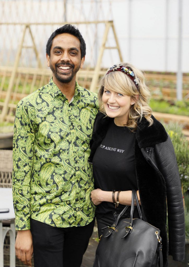 Clint Drieberg and Elaine Leonard at the exclusive launch of AVOCA Dunboyne in the beautiful surrounds of the brand-new store on Tuesday 4th April. The event was attended by key lifestyle media, social influencers and stylists-photo Kieran Harnett
