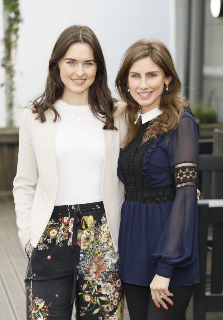 Faye Docherty and Ciara O'Connell at the exclusive launch of AVOCA Dunboyne in the beautiful surrounds of the brand-new store on Tuesday 4th April. The event was attended by key lifestyle media, social influencers and stylists-photo Kieran Harnett