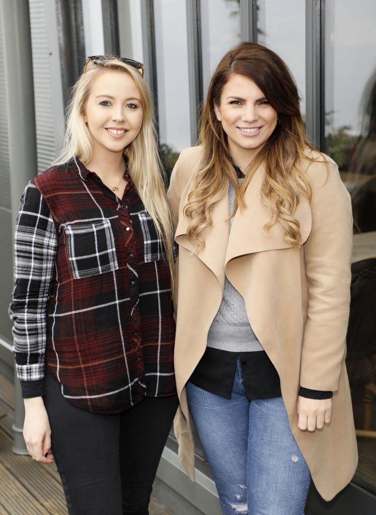 Kendra Becker and Ciara Maher at the exclusive launch of AVOCA Dunboyne in the beautiful surrounds of the brand-new store on Tuesday 4th April. The event was attended by key lifestyle media, social influencers and stylists-photo Kieran Harnett
