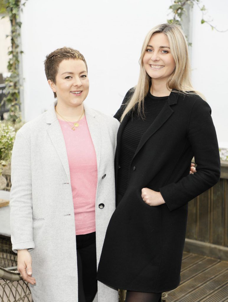 Rosemary McCabe and Aoibhinn McBride at the exclusive launch of AVOCA Dunboyne in the beautiful surrounds of the brand-new store on Tuesday 4th April. The event was attended by key lifestyle media, social influencers and stylists-photo Kieran Harnett