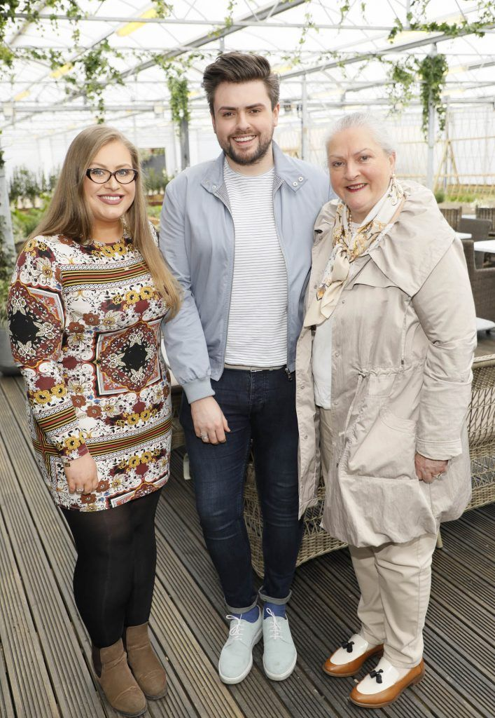 Vanessa, James and Veronica Butler at the exclusive launch of AVOCA Dunboyne in the beautiful surrounds of the brand-new store on Tuesday 4th April. The event was attended by key lifestyle media, social influencers and stylists-photo Kieran Harnett
