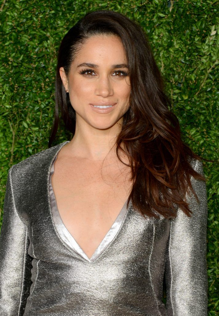 Meghan Markle attends the 12th annual CFDA/Vogue Fashion Fund Awards at Spring Studios on November 2, 2015 in New York City.  (Photo by Andrew Toth/Getty Images)