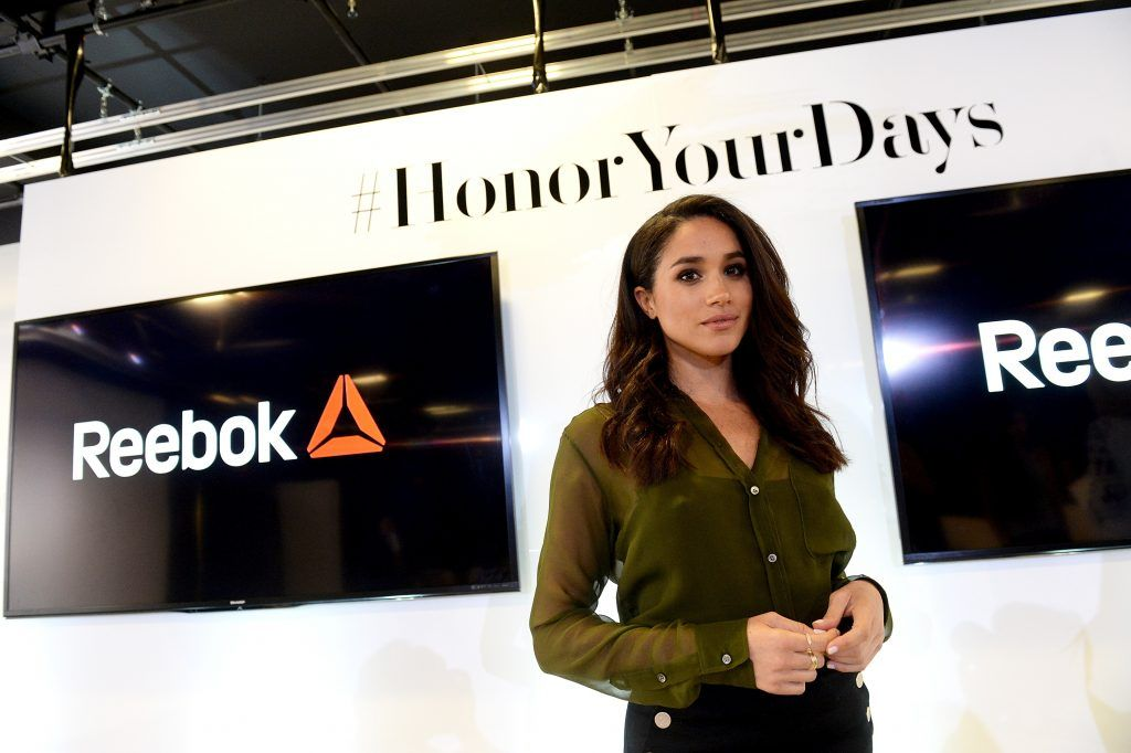 Meghan Markle attends REEBOK #HonorYourDays at Reebok Headquarters on April 28, 2016 in Canton, Massachusetts.  (Photo by Darren McCollester/Getty Images for REEBOK)