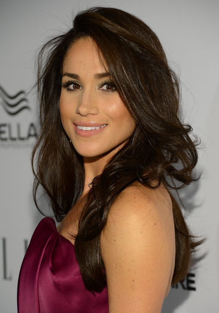 Meghan Markle attends the ELLE's Women in Television Celebration at Soho House on January 24, 2013 in West Hollywood, California.  (Photo by Michael Kovac/Getty Images for ELLE)