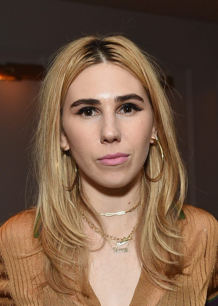"Actress Zosia Mamet attends 2017 Tribeca Film Festival - ""The Boy Downstairs"" - after party at Esther & Carol on April 23, 2017 in New York City.  (Photo by Mike Coppola/Getty Images)"