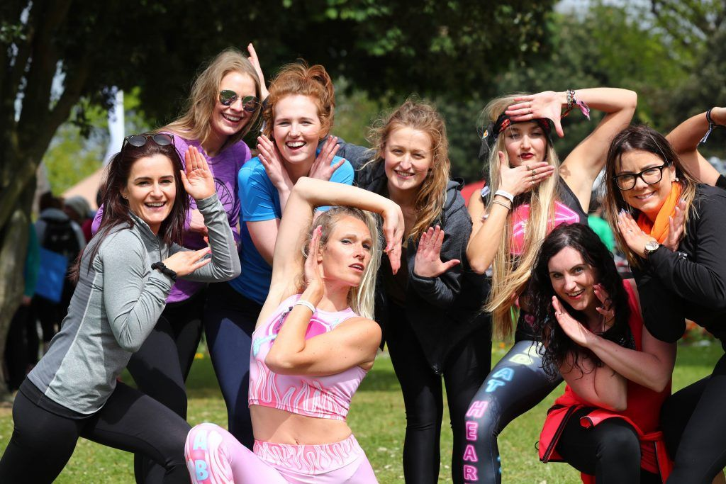 Pictured is Julietta Murrell from House of Voga, Yoga Vogueing as over 5,000 people descended on Dublin's Herbert park for WellFest, Ireland's only health, wellness and fitness festival. Pic: Marc O'Sullivan
