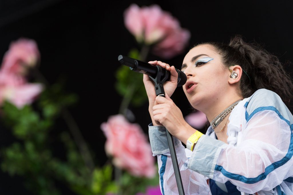 Charlie XCX performs on the Other Stage during day 2 of the Glastonbury Festival 2017 at Worthy Farm, Pilton on June 23, 2017 in Glastonbury, England.  (Photo by Ian Gavan/Getty Images)