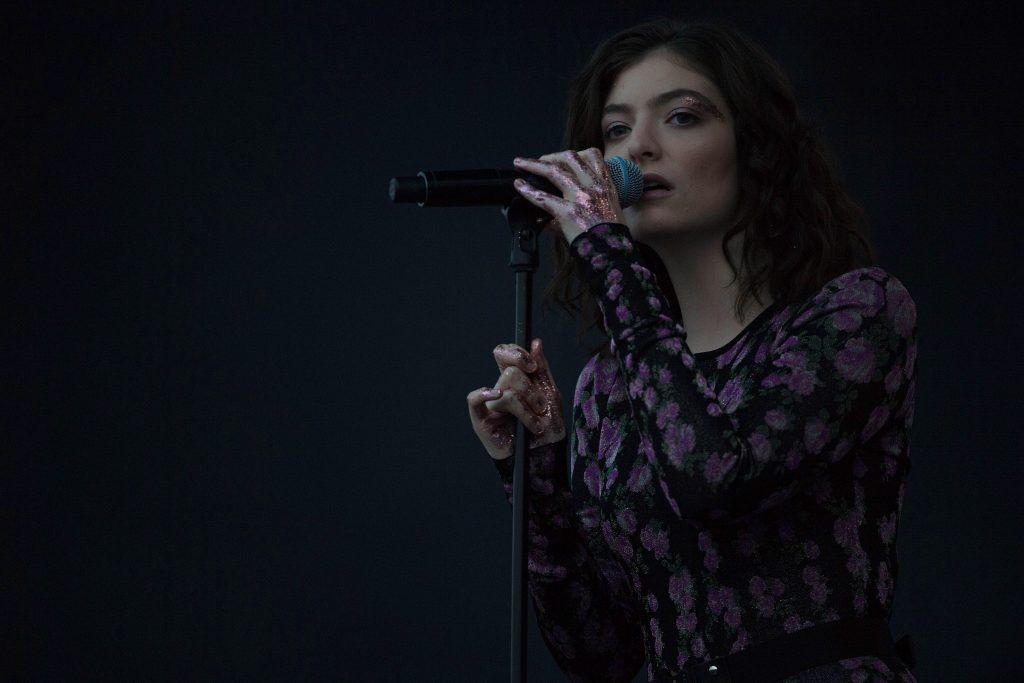 Lorde performs on day 2 of the Glastonbury Festival 2017 at Worthy Farm, Pilton on June 23, 2017 in Glastonbury, England.  (Photo by Ian Gavan/Getty Images)