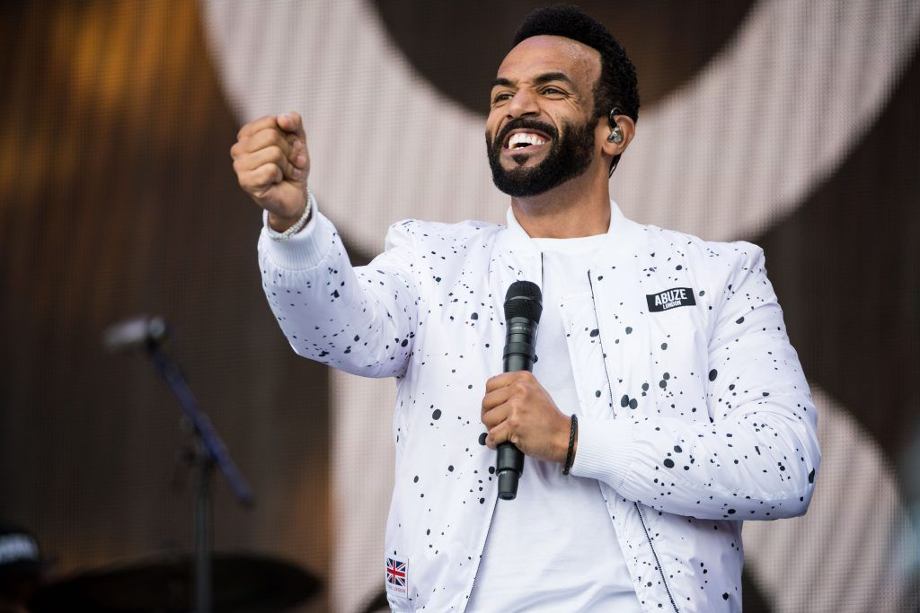 Craig David performs on day 3 of the Glastonbury Festival 2017 at Worthy Farm, Pilton on June 24, 2017 in Glastonbury, England.  (Photo by Ian Gavan/Getty Images)