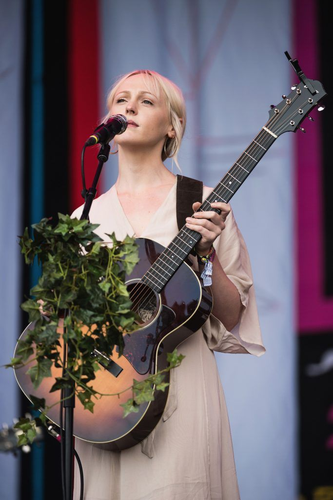 Laura Marling performs on day 4 of the Glastonbury Festival 2017 at Worthy Farm, Pilton on June 25, 2017 in Glastonbury, England.  (Photo by Ian Gavan/Getty Images)