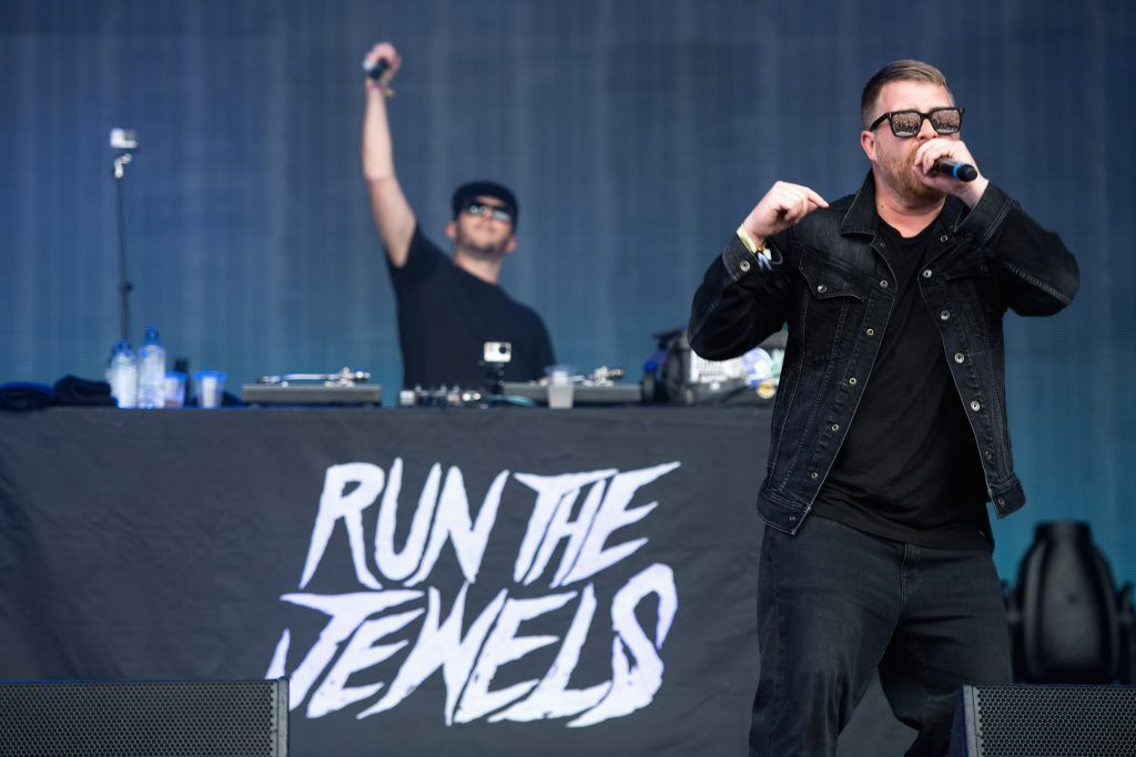 El-P of Run the Jewels performs on day 3 of the Glastonbury Festival 2017 at Worthy Farm, Pilton on June 24, 2017 in Glastonbury, England.  (Photo by Ian Gavan/Getty Images)