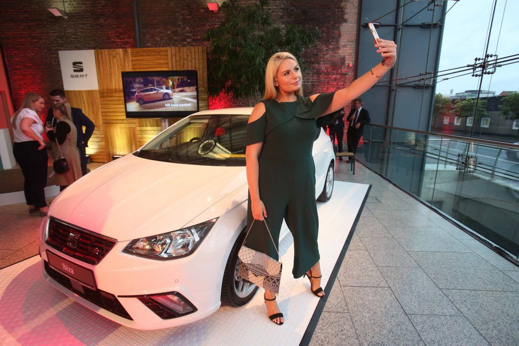 bb8289fd97c00b Pictured is Louise O Reilly taking a selfie at the exclusive launch of the  all-