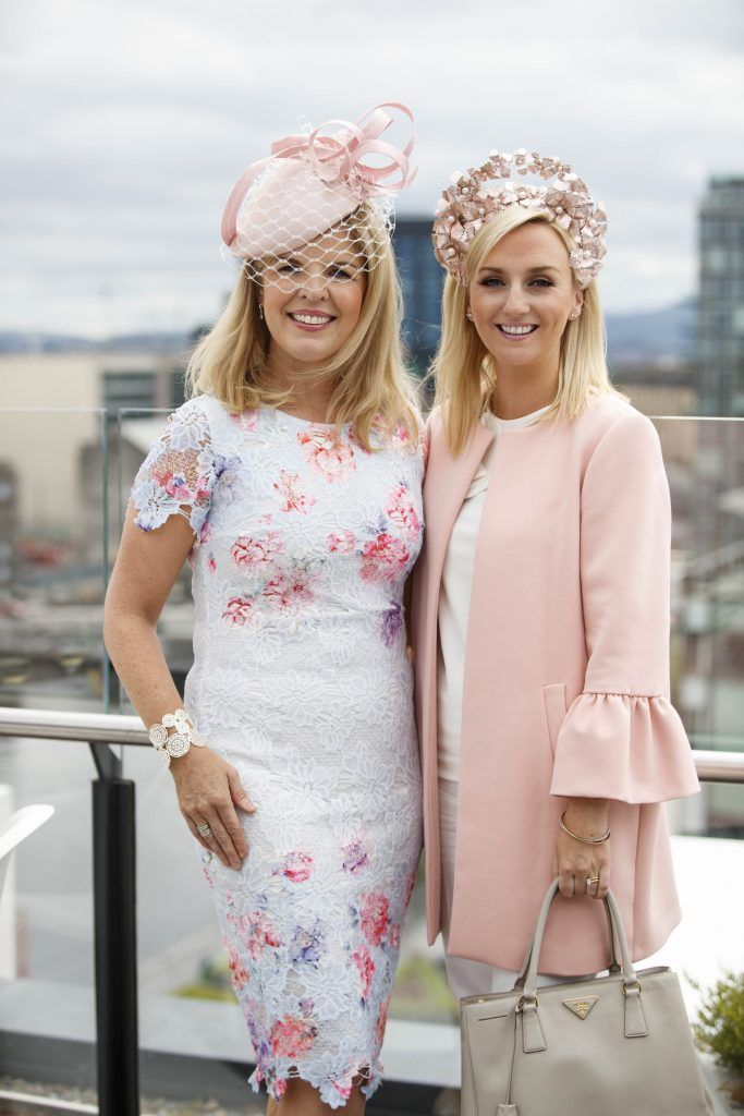 Marietta Doran and Edel Ramberg pictured at the launch of the Galway Races Summer Festival where the judges for the g Hotel Best Dressed Lady and the g Hotel Best Hat were revealed. The event will take place on August 3rd #gHotelBestDressed. Picture by Andres Poveda