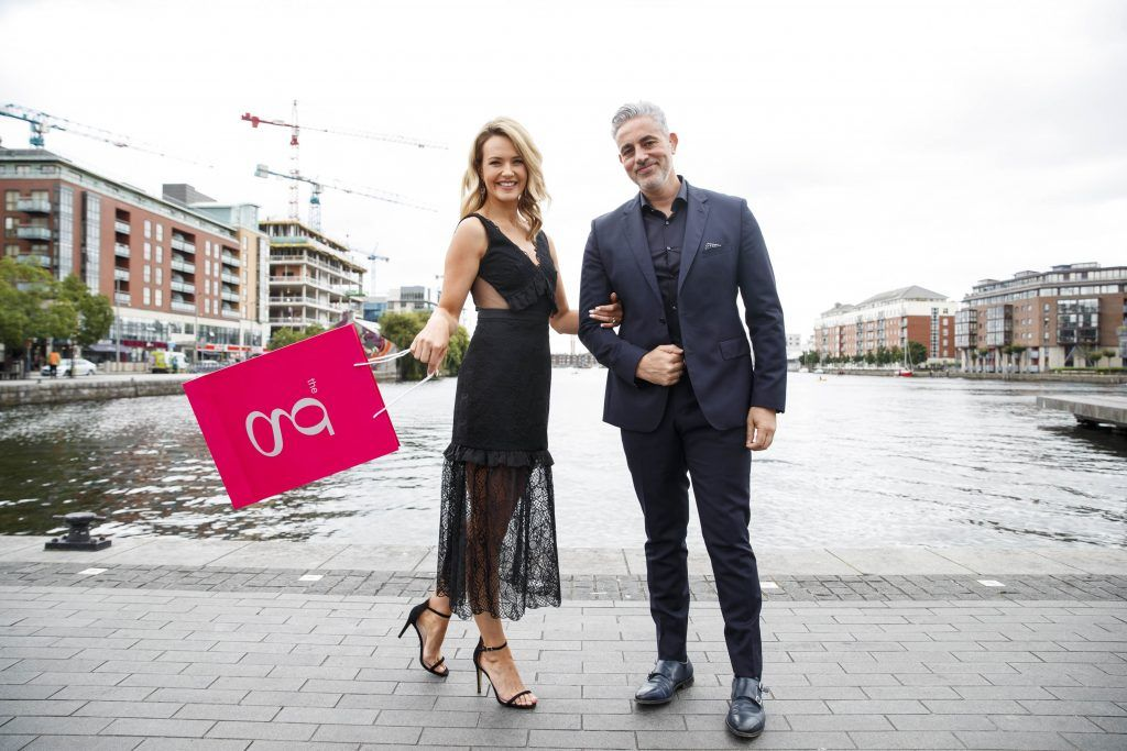 The judges for the g Hotel Best Dressed Lady and the g Hotel Best Hat is Aoibhin Garrihy and Baz Ashmawy. Pictured here at the launch of the Galway Races Summer Festival. The event will take place on August 3rd #gHotelBestDressed. Picture by Andres Poveda
