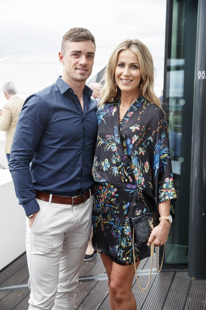 Greg Lally and Mary Lee pictured at the launch of the Galway Races Summer Festival where the judges for the g Hotel Best Dressed Lady and the g Hotel Best Hat were revealed. The event will take place on August 3rd #gHotelBestDressed. Picture by Andres Poveda