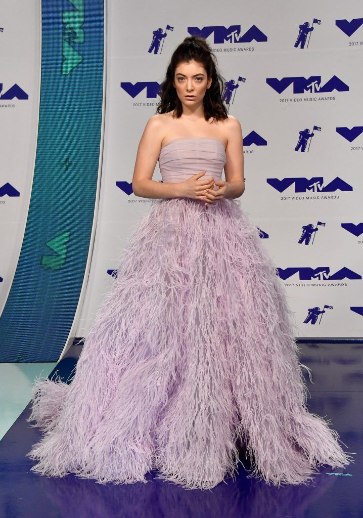Lorde attends the 2017 MTV Video Music Awards at The Forum on August 27, 2017 in Inglewood, California.  (Photo by Frazer Harrison/Getty Images)