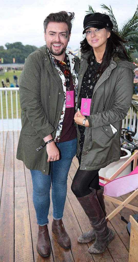 James Patrice Butler and Suzy Griffin at the #3Disco area at the sold-out three-day festival Electric Picnic at Stradbally, Co. Laois. Picture: Brian McEvoy