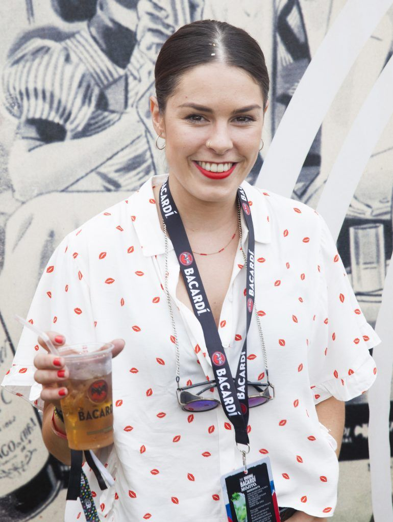 Pictured is Michelle Dunne enjoying Stradbally's ultimate party at Casa Bacardi 2017. Bacardi rum returned to a sold out Electric Picnic, boasting a stellar line-up of international DJ's as well as top home grown Irish talent. Picture: Kinlan Photography.