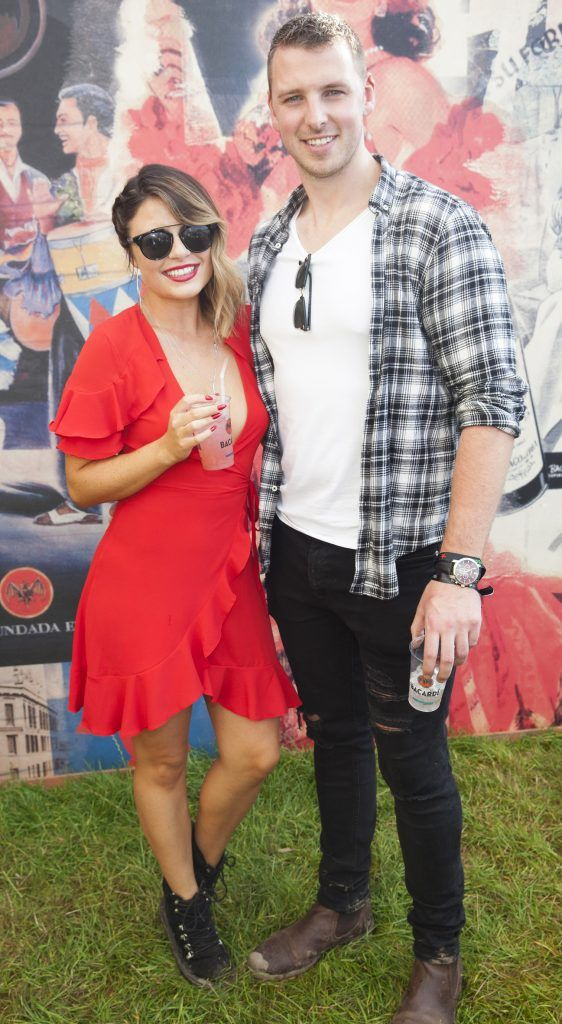 Pictured are Lauren Arthurs and John O'Flynn enjoying Stradbally's ultimate party at Casa Bacardi 2017. Bacardi rum returned to a sold out Electric Picnic, boasting a stellar line-up of international DJ's as well as top home grown Irish talent. Picture: Kinlan Photography.