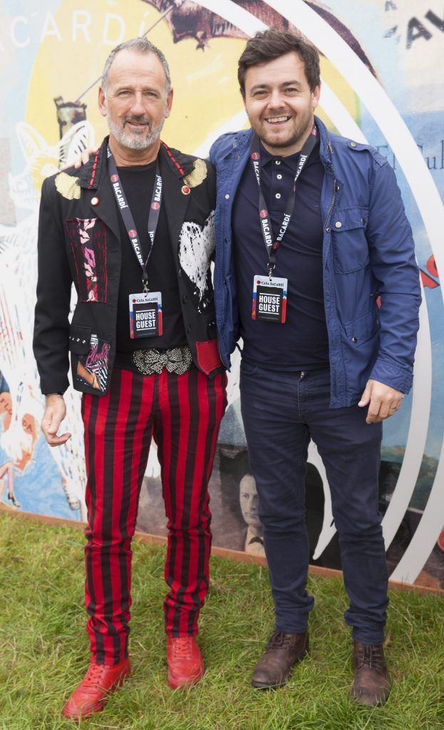 Pictured are Martin Toban and Laurence Kinlan enjoying Stradbally's ultimate party at Casa Bacardi 2017. Bacardi rum returned to a sold out Electric Picnic, boasting a stellar line-up of international DJ's as well as top home grown Irish talent. Picture: Kinlan Photography.