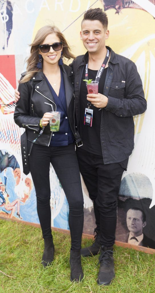 Pictured are Alison Brazil and Doug Leddin enjoying Stradbally's ultimate party at Casa Bacardi 2017. Bacardi rum returned to a sold out Electric Picnic, boasting a stellar line-up of international DJ's as well as top home grown Irish talent. Picture: Kinlan Photography.