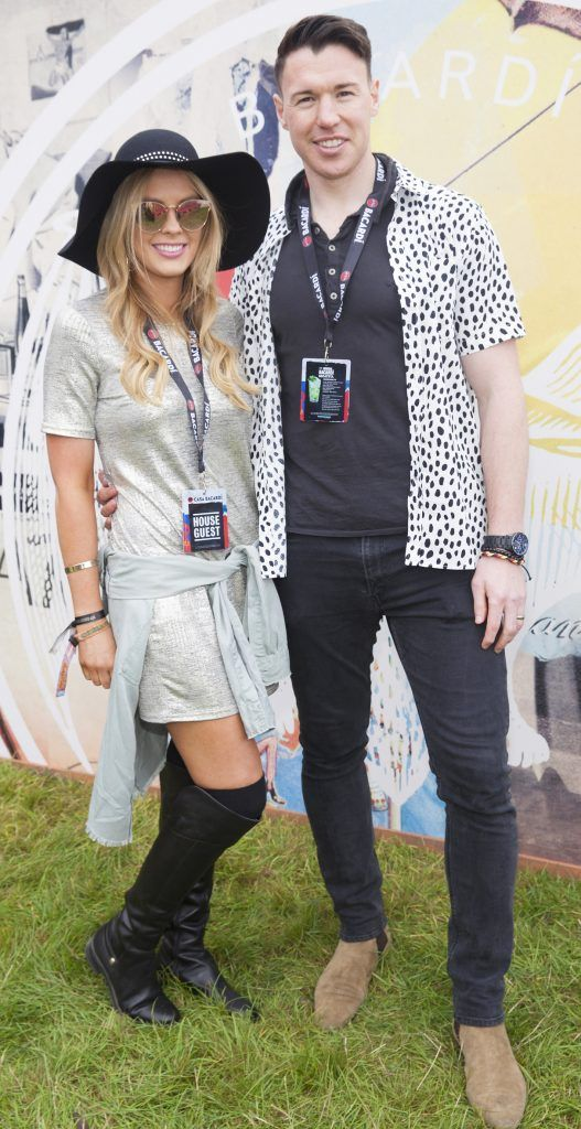 Pictured are Fiona Creely and Eamon Fennell enjoying Stradbally's ultimate party at Casa Bacardi 2017. Bacardi rum returned to a sold out Electric Picnic, boasting a stellar line-up of international DJ's as well as top home grown Irish talent. Picture: Kinlan Photography.
