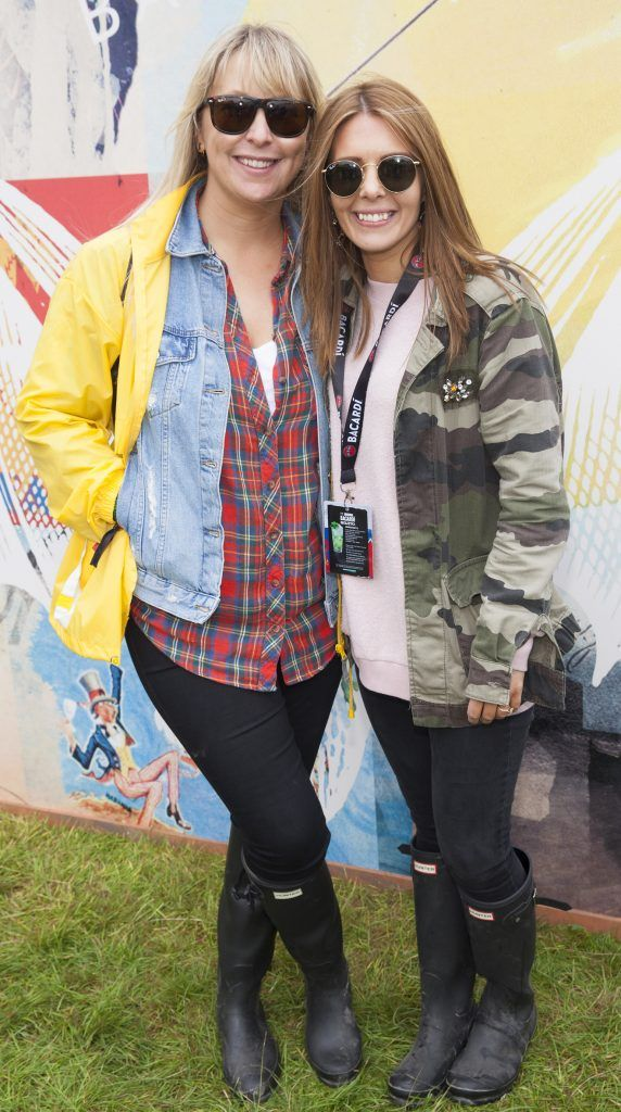 Pictured are Kelly Keogh and Jenny Greene enjoying Stradbally's ultimate party at Casa Bacardi 2017. Bacardi rum returned to a sold out Electric Picnic, boasting a stellar line-up of international DJ's as well as top home grown Irish talent. Picture: Kinlan Photography.