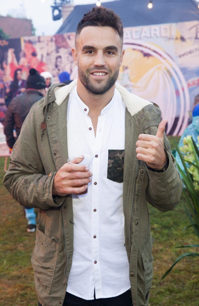 Pictured is Conor Murray enjoying Stradbally's ultimate party at Casa Bacardi 2017. Bacardi rum returned to a sold out Electric Picnic, boasting a stellar line-up of international DJ's as well as top home grown Irish talent. Picture: Kinlan Photography.